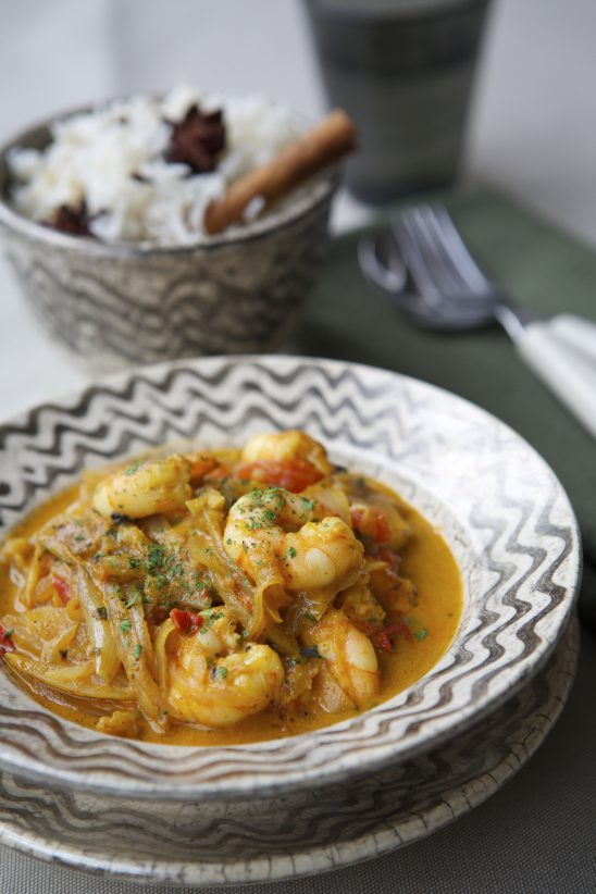Low Salt Recipes – King Prawn Curry