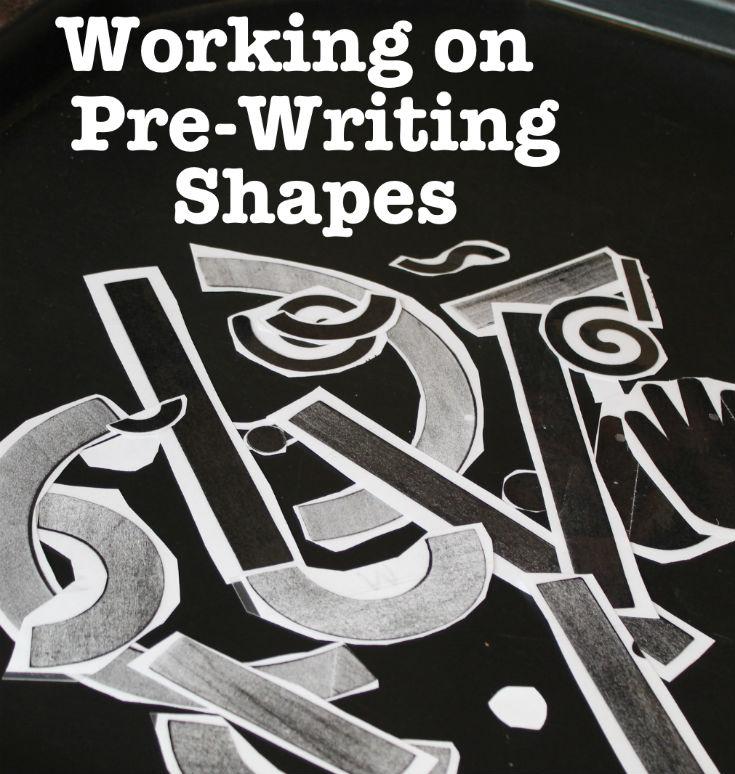 prewritingshapestext