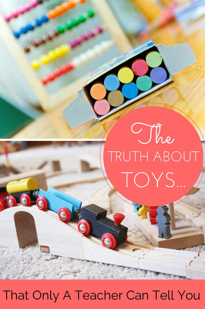 Toys For Teachers : The truth about toys only a teacher can tell you in