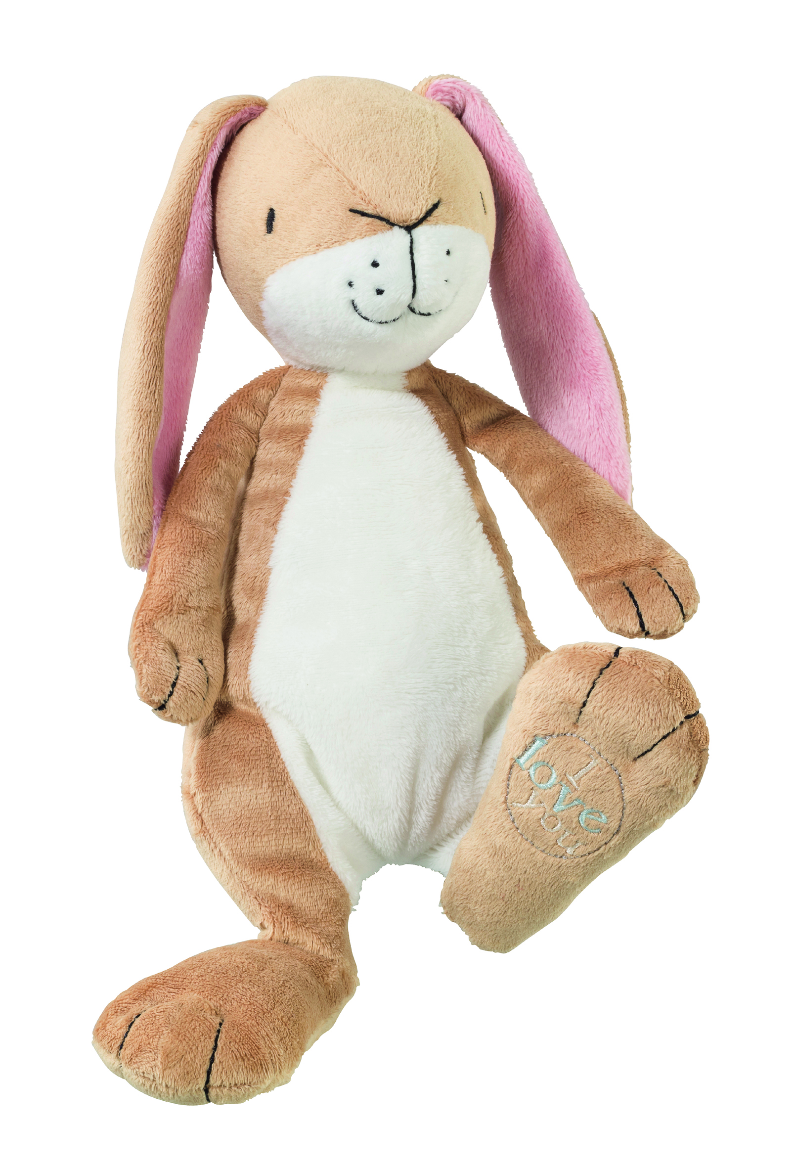 GH1208 GHMILY NUtbrown Hare Plush With Swing Tag v2