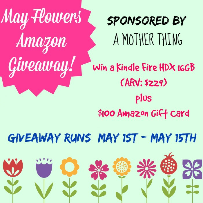 May Flowers Giveaway