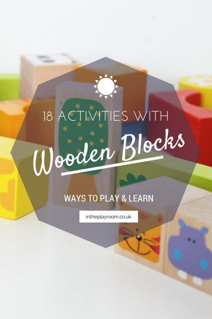 Ways to Play and Learn with Wooden Blocks [Bigjigs Play Patrol]