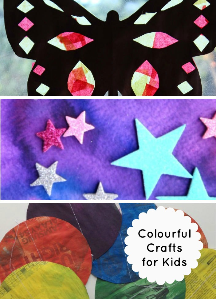 Colourful Crafts for Kids and Tuesday Tutorials Pintorials Week 11