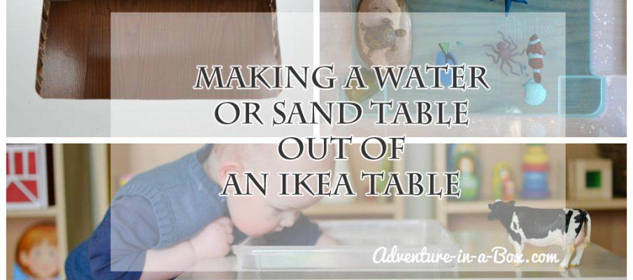 sandwatertable