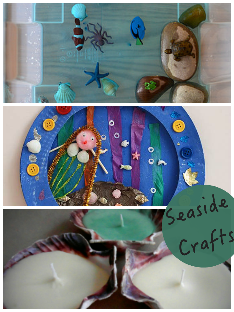 Seaside Crafts and Tuesday Tutorials Week 13