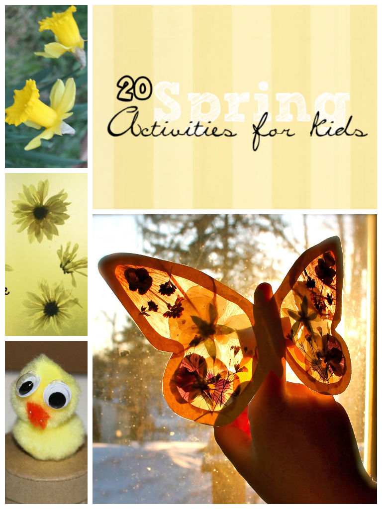 Ultimate list of 20 Spring crafts and activities for kids
