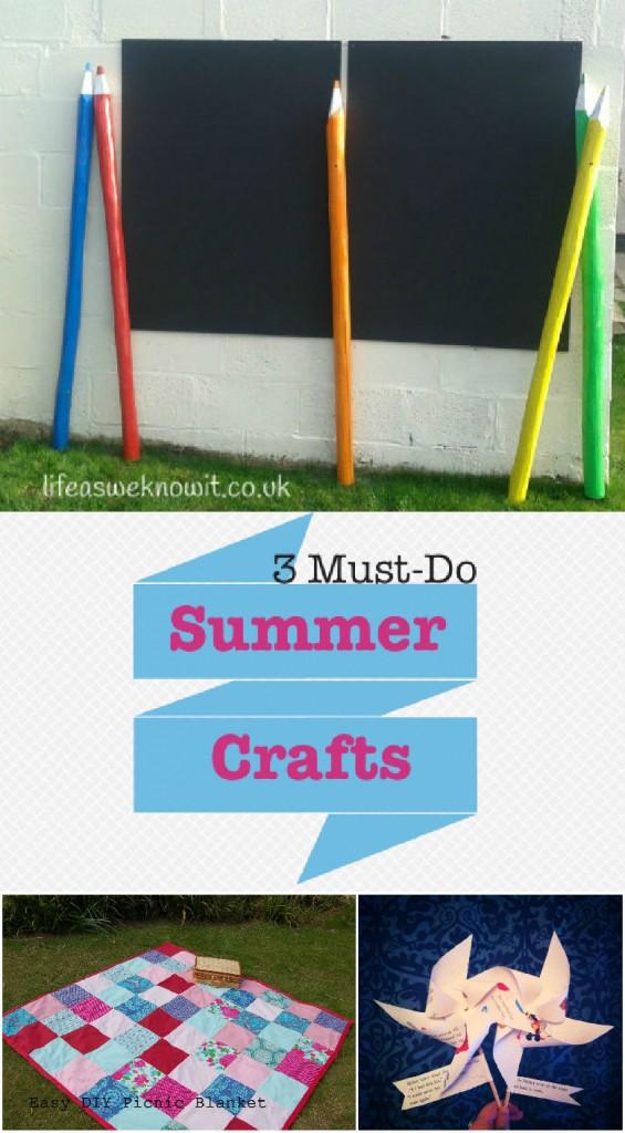 Summer Crafts & Tuesday Tutorials Week 12