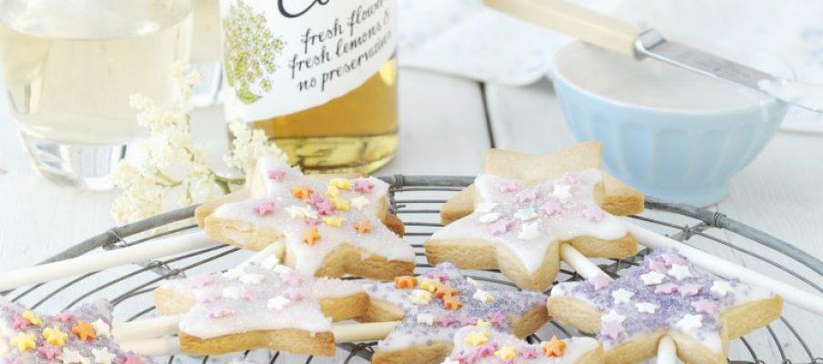 Elderflower biscuits