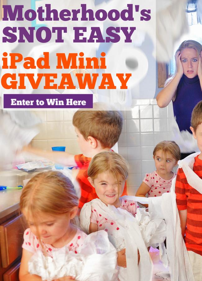 Motherhoods-Snot-Easy-iPad-Mini-Giveaway