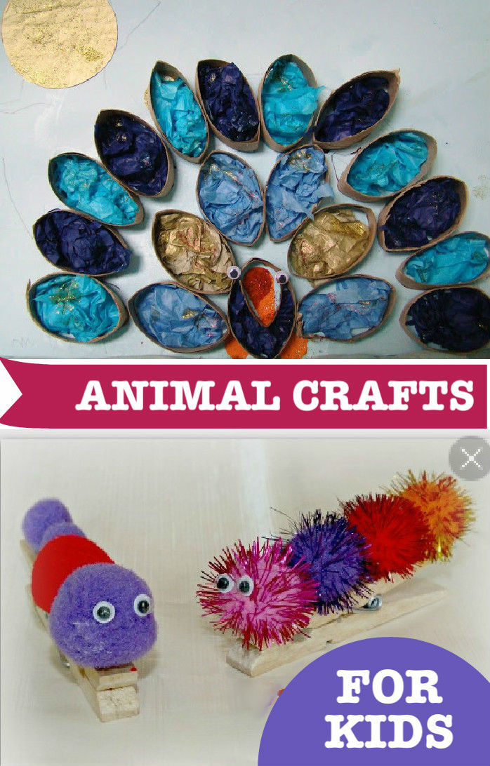 Animal Crafts For Kids & Tuesday Tutorials Week 17