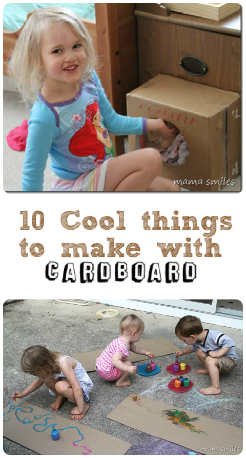 10 Junk Modelling Cardboard Craft Ideas