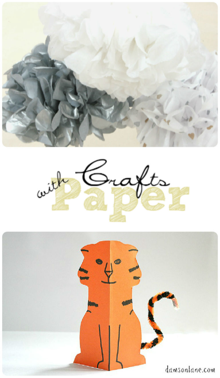Paper Crafts and Tuesday Tutorials Week 16