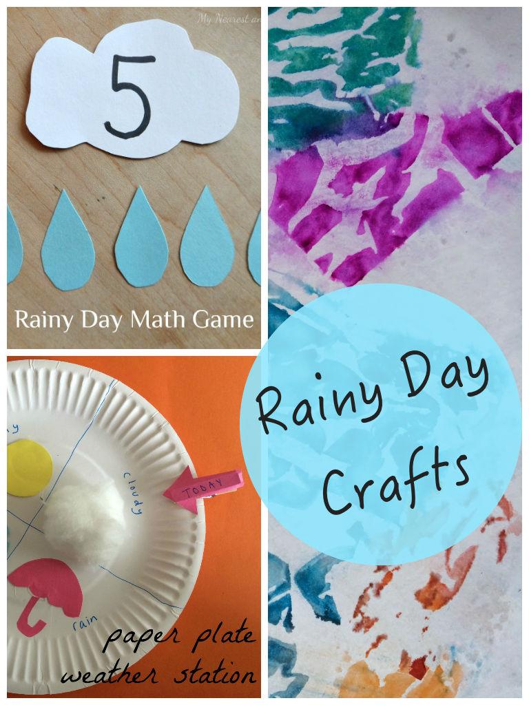 Rainy Day Crafts & Tuesday Tutorials Week 14