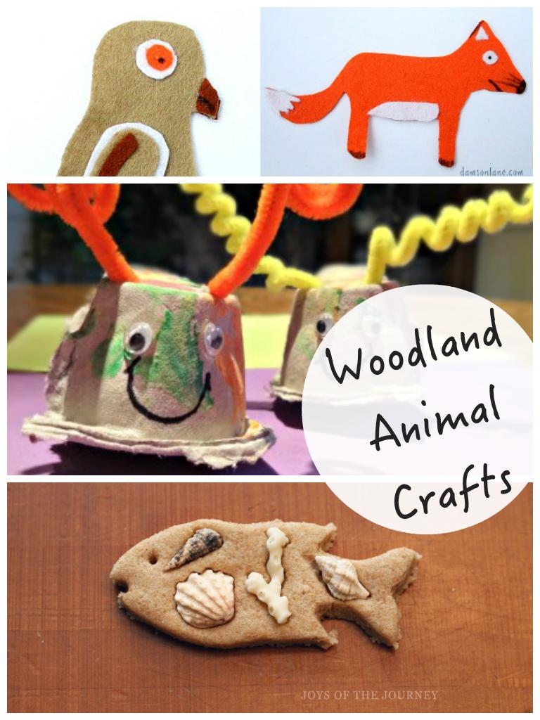 Woodland Crafts & Tuesday Tutorials Week 15