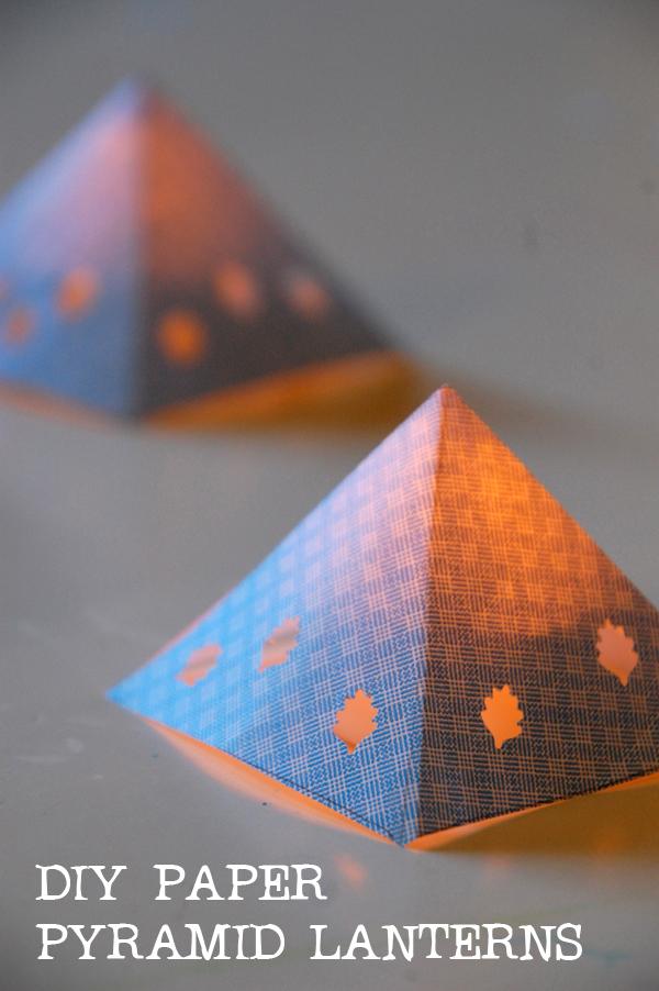 DIY-Paper-Pyramid-Lanterns