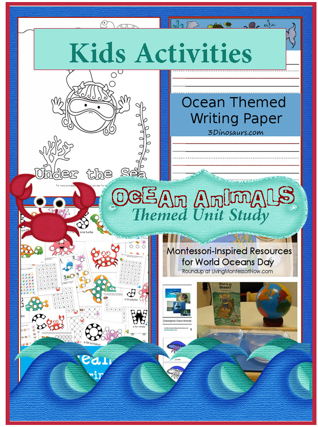 Dolphin Activities For Kids In The Playroom