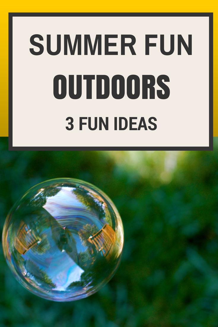 Outdoors Summer Fun & Tuesday Tutorials Week 19