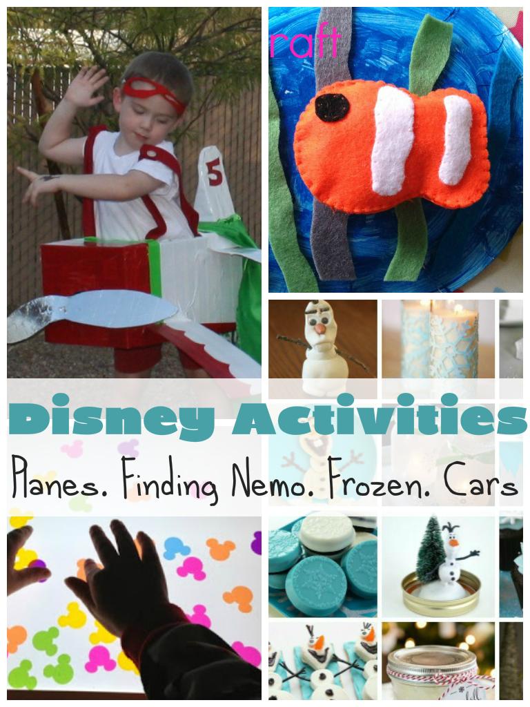 Disney Activities  U0026 Crafts For Kids