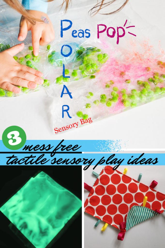 Mess Free Tactile Sensory Play and Tuesday Tutorials Week 18