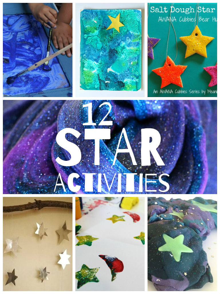 12 Star Crafts And Activities In The Playroom