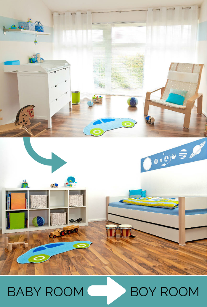 What Happens to the Baby's Room When He Grows Up?