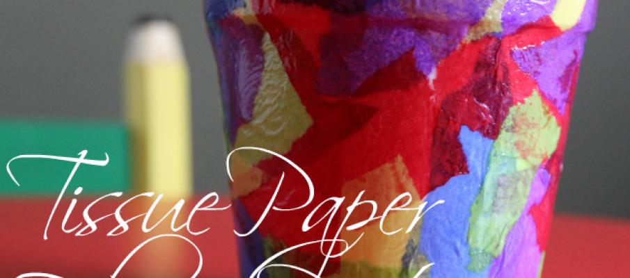 Springtime-Crafts-for-Kids-Tissue-Paper-Flower-Pot-