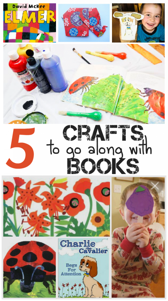 5 Activities that go with books & Tuesday Tutorials Week 26