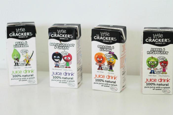 little crackers juice boxes