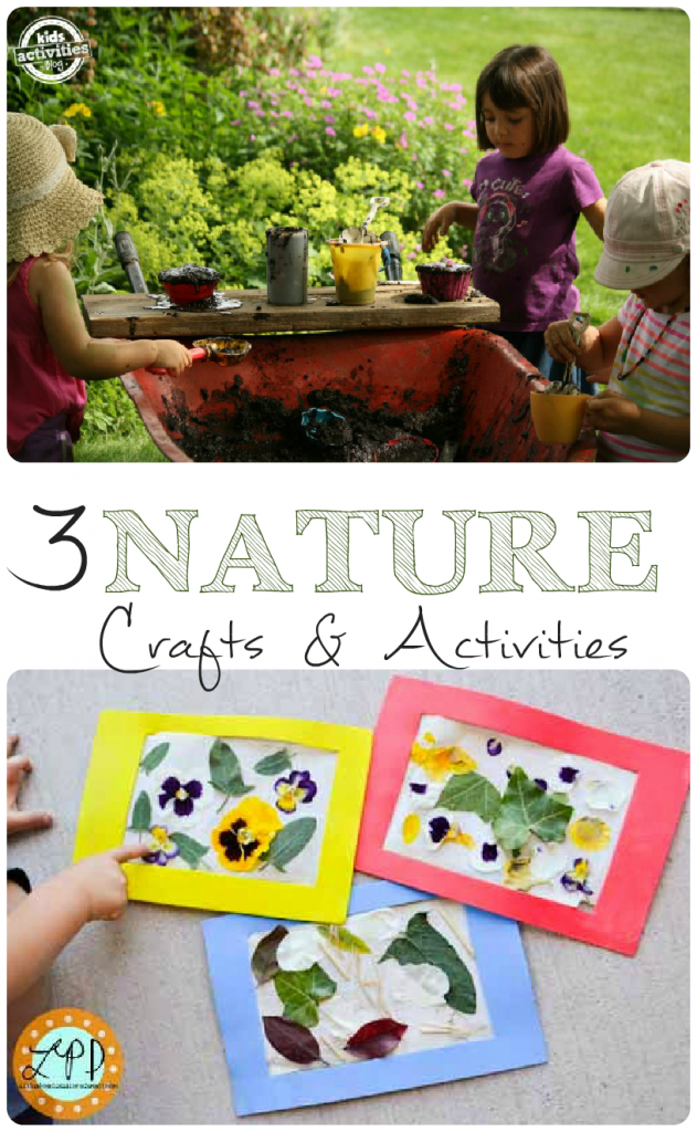 Nature Crafts and Activities and Tuesday Tutorials Week 24