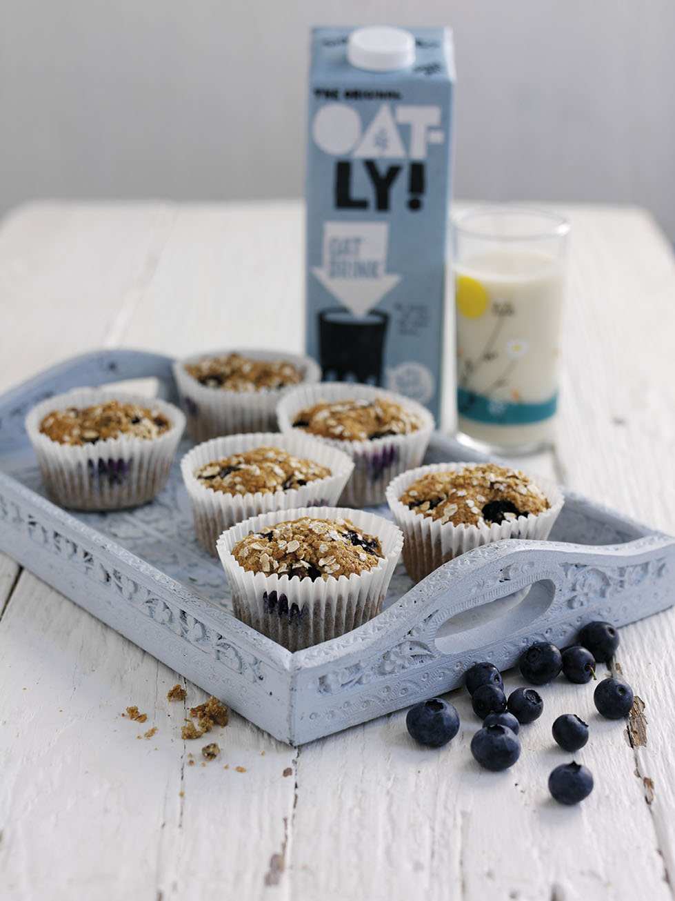 Oatly Blueberry Muffins (Pack)