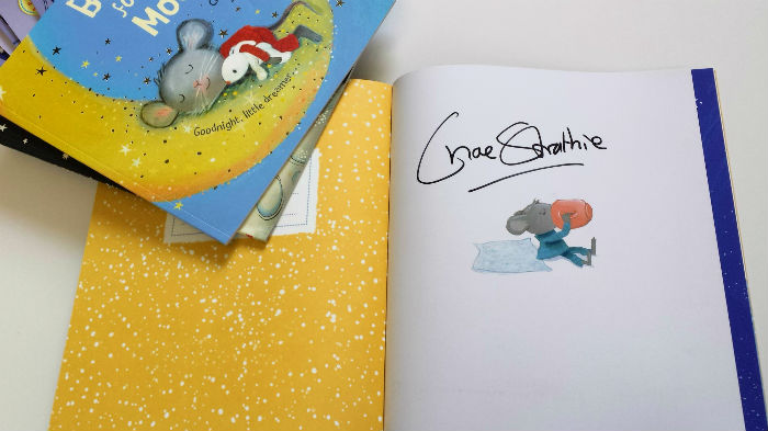 Win A Signed Copy Of Bedtime For Tiny Mouse By Chae
