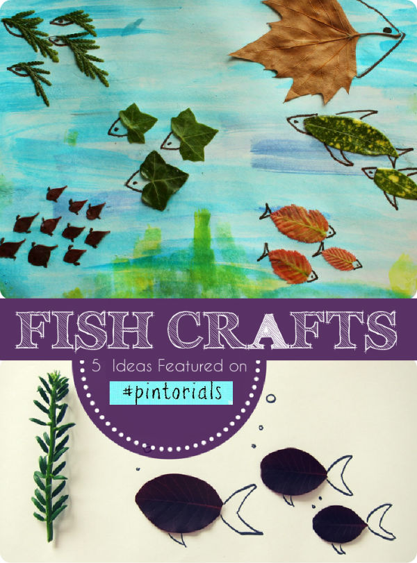 Fish Crafts and Tuesday Tutorials Week 29