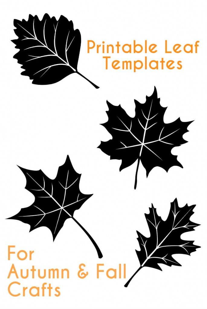 Critical image for fall leaf printable