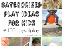 Over 100 Play Ideas for #100DaysofPlay