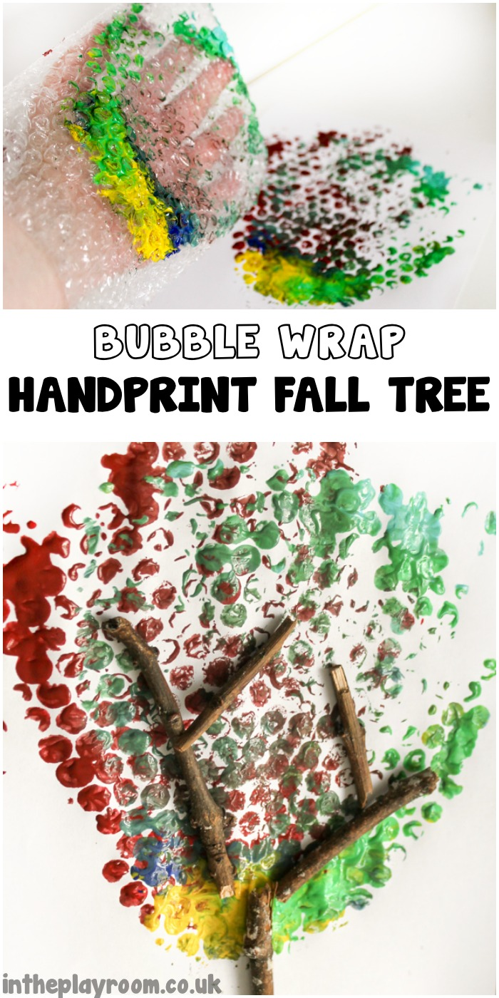 Bubblewrap-Handprint-Fall-Tree
