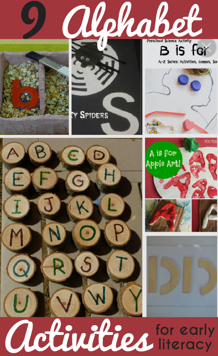 Alphabet Activities for Kids and Tuesday Tutorials Week 34