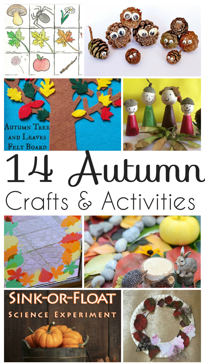 Autumn Crafts and Activities for Kids and Tuesday Tutorials Week 31