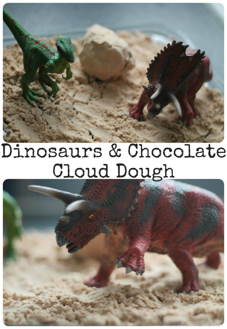 Sensory Play - Ways to Play with Toy Dinosaurs - In The ...