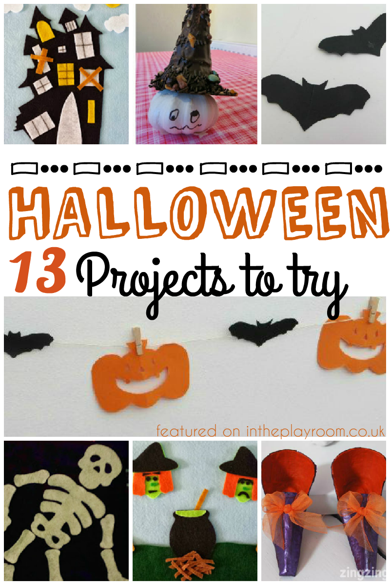 13 Halloween Projects and Tuesday Tutorials Week 33