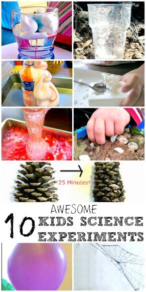 10 Science Experiments for Kids