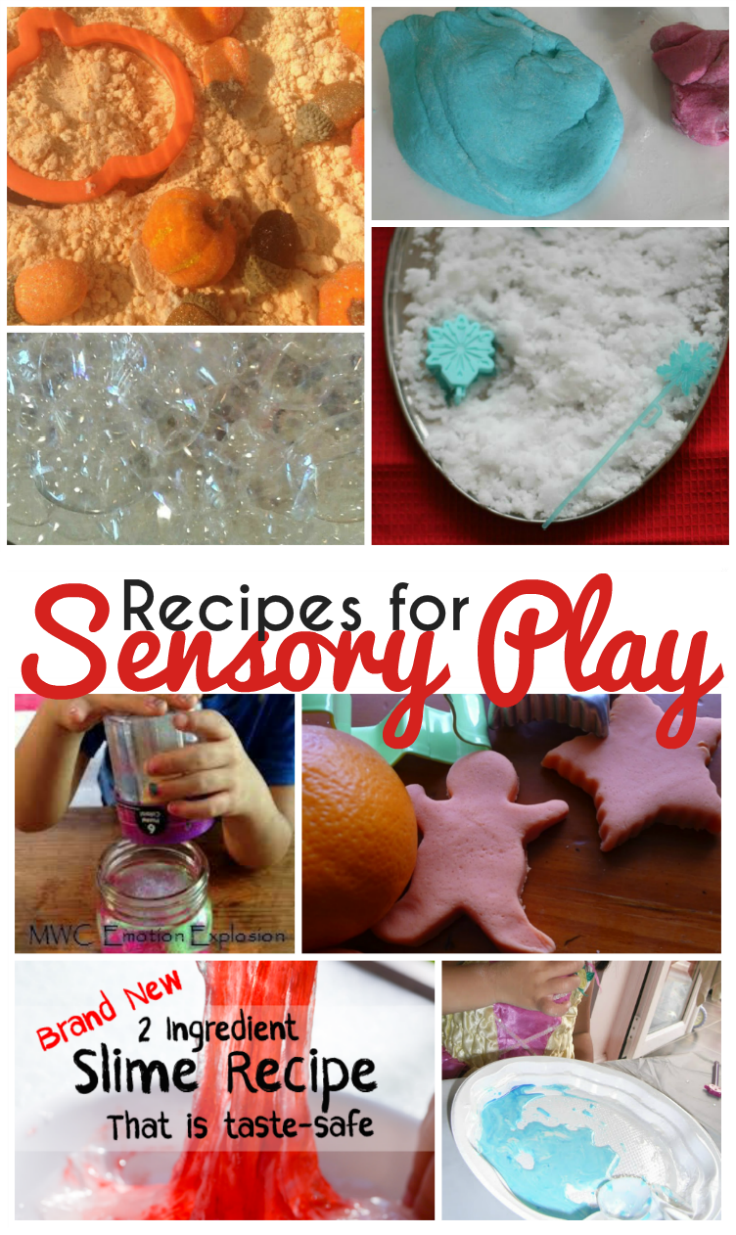 Sensory Play Recipes and Tuesday Tutorials Week 35