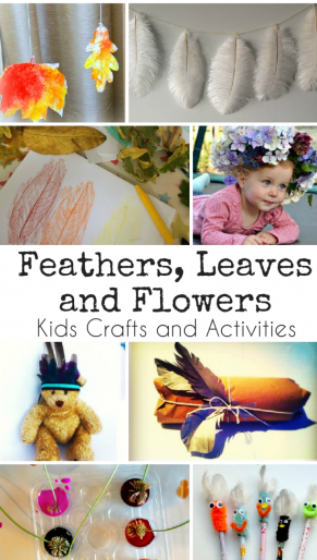 Feathers, Flowers and Leaves and Week 36 of Tuesday Tutorials