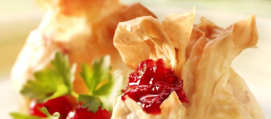 Primula Cheese & Cranberry Filo Parcels