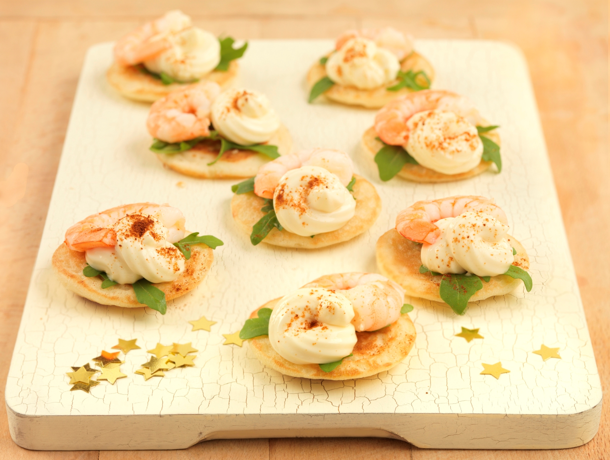 Primula King Prawn Blinis Xmas