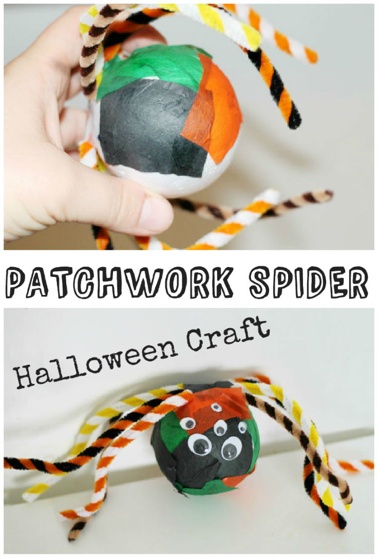 Halloween Spider Craft In The Playroom