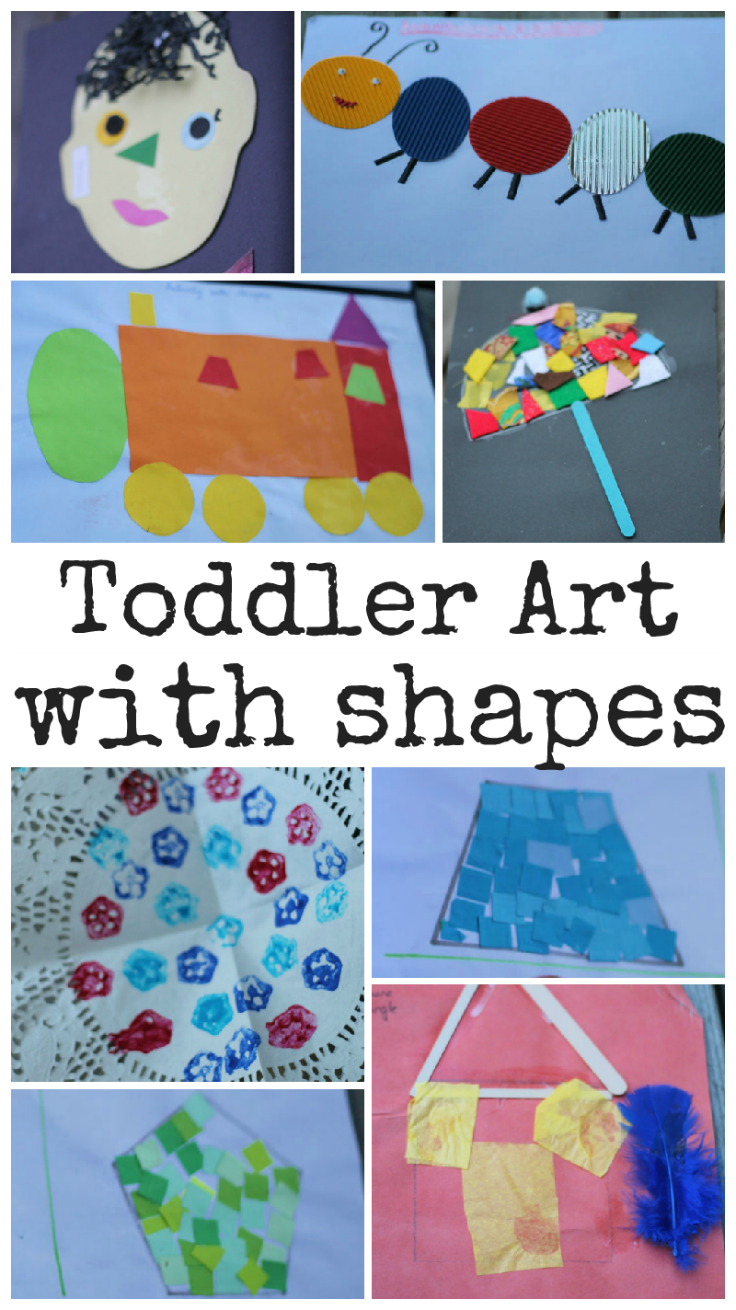 Toddlerartwithshapes