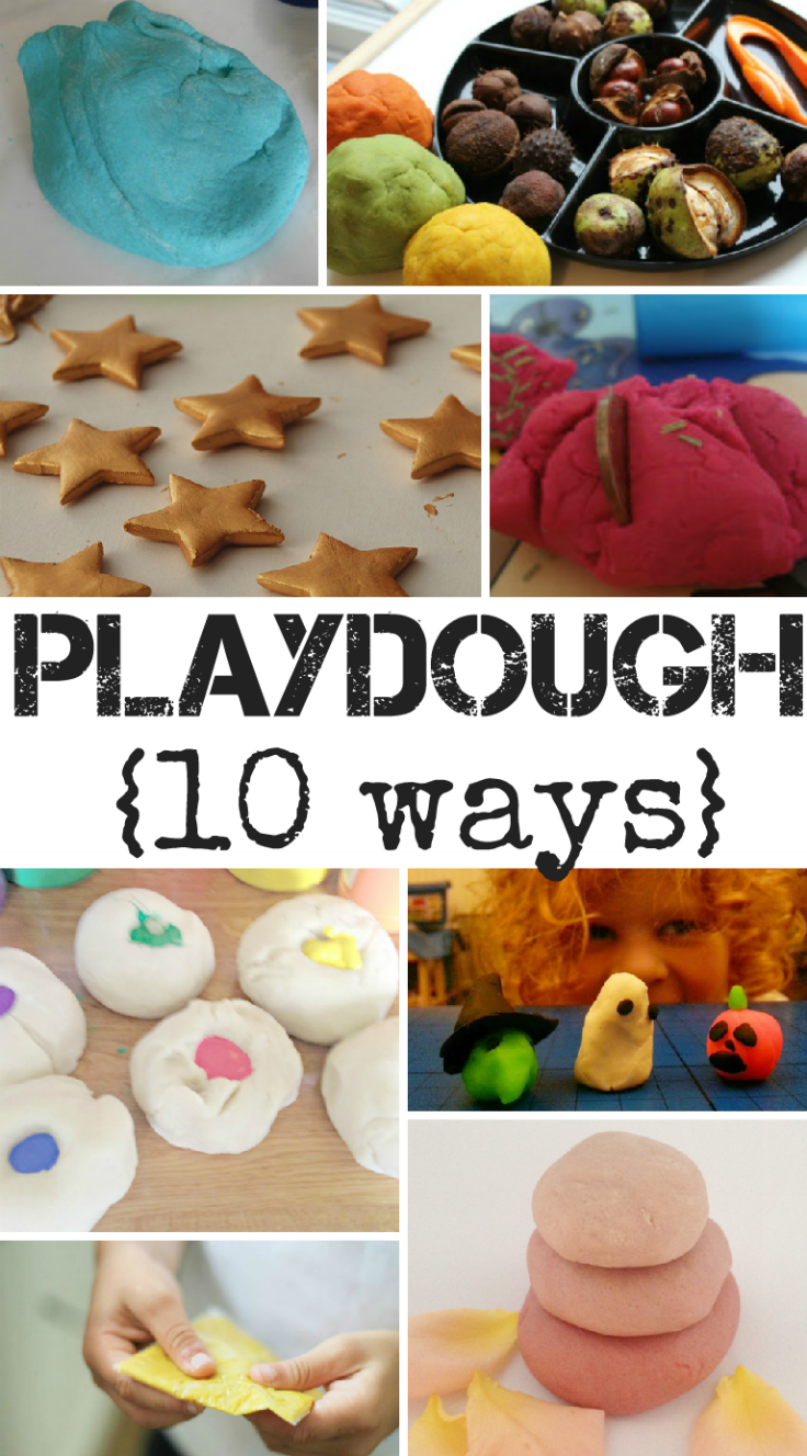 Playdough 10 Ways and Week 38 of Tuesday Tutorials