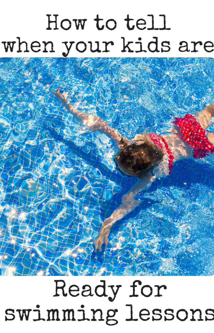 When Are Your Kids Ready For Swim Lessons In The Playroom