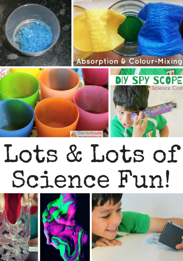 Science Activities and Tuesday Tutorials Week 39