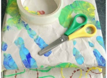 Homemade Wrapping Paper Activities